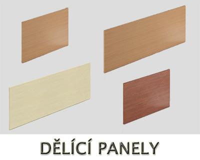 Dělící panely VISIO - Designový NÁBYTEK