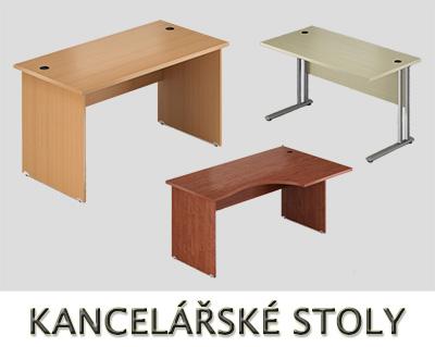 Kancelářské stoly VISIO - Designový NÁBYTEK