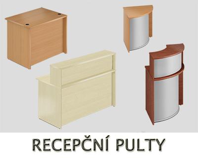 Recepční pulty VISIO - Designový NÁBYTEK
