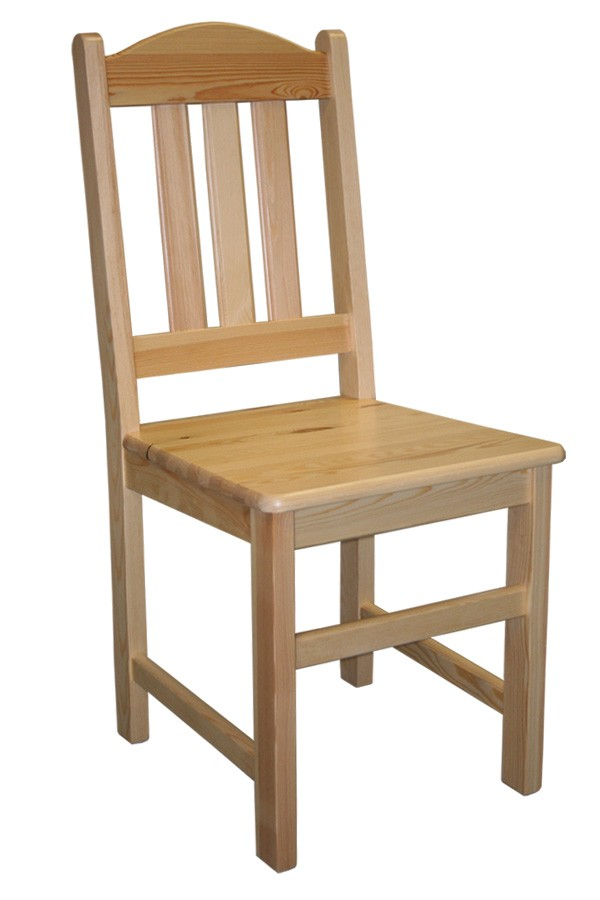 Jídelní židle celodřevěná MILUŠE, masiv borovice - B161