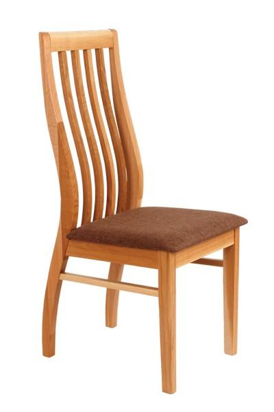 Bradop Dřevěná židle LADA, masiv dub Z04