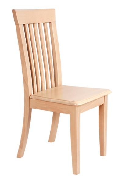 Dřevěná židle celodřevěná KLÁRA, masiv buk - Z06