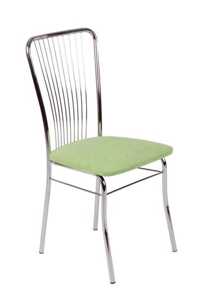 Jídelní židle LAURA, chromovaná - Z60