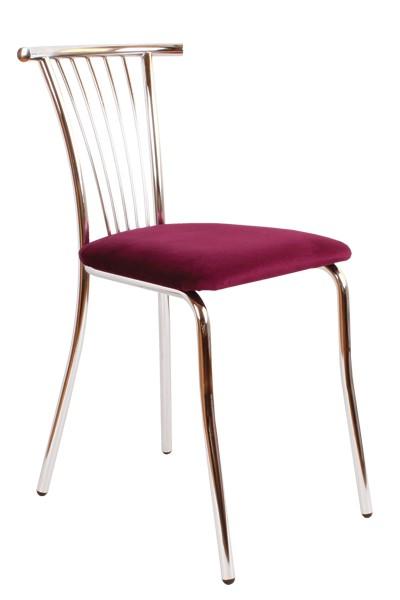 Jídelní židle TAMARA, chromovaná - Z79