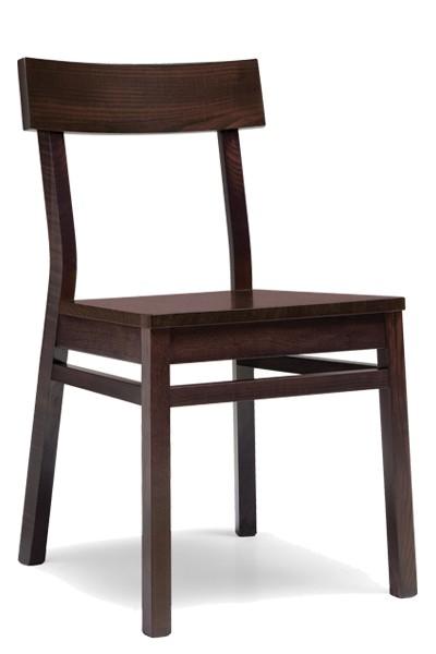 Bradop Dřevěná židle celodřevěná OTÝLIE, masiv buk Z512