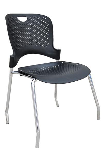 Židle VLASTA, chrom - plast - Z600