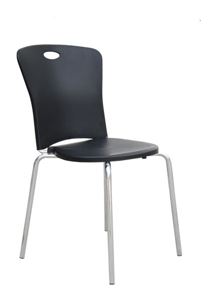 Židle ESTER, chrom - plast - Z603