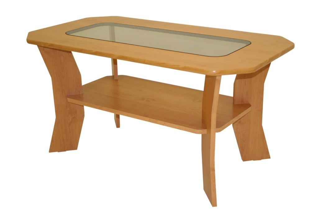 Bradop Konferenční stolek FILIP, se sklem K10