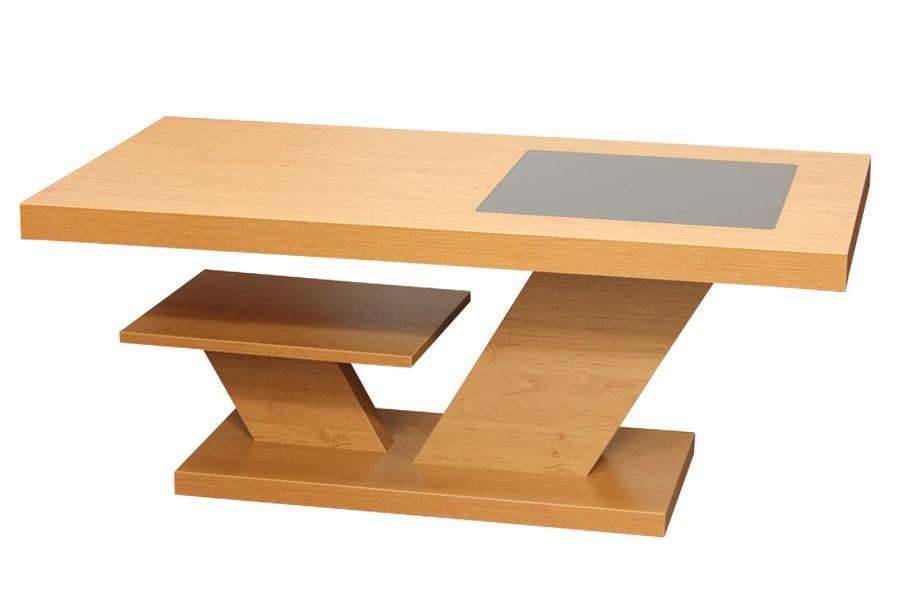 Konferenční stolek ALEŠ, obdélník, podstavec - K113