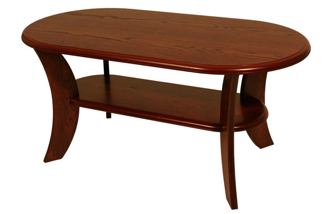 Konferenční stolek ROMAN, oválný, MDF - K52