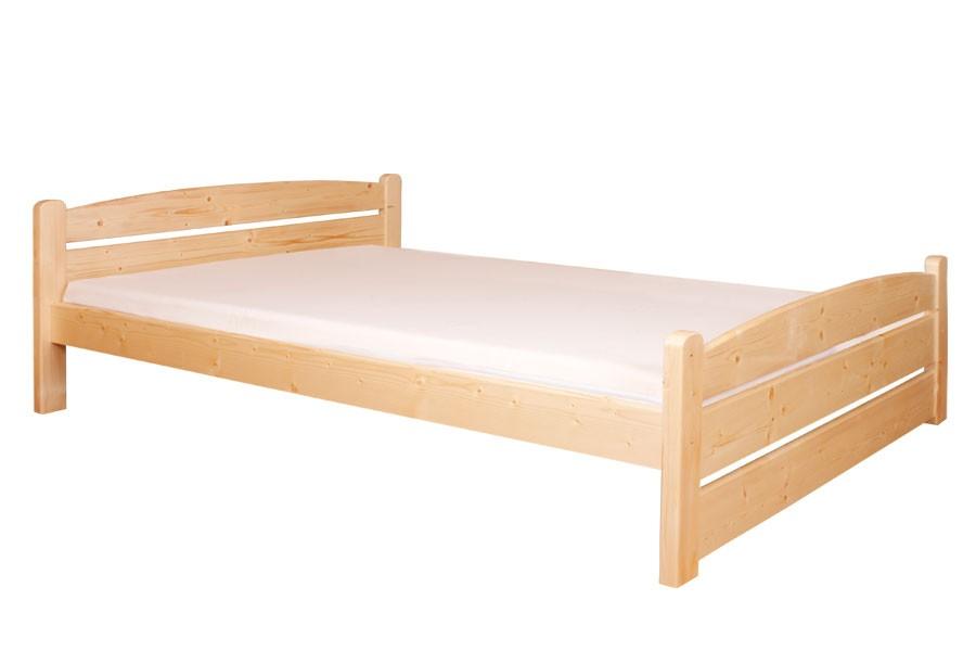 Manželská postel 160 x 200, masiv smrk - B458