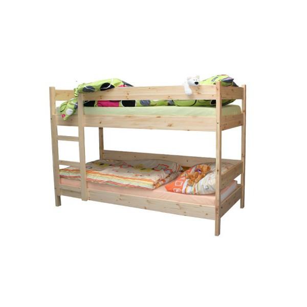 Bradop Patrová postel 90 x 200, masiv smrk B481
