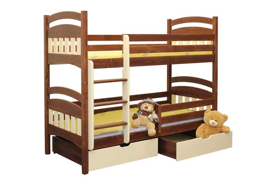 Bradop Patrová postel MATÝSEK B404-90x200