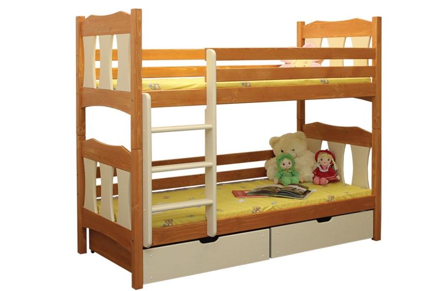 Bradop Patrová postel VOJTÍŠEK B407-90x200