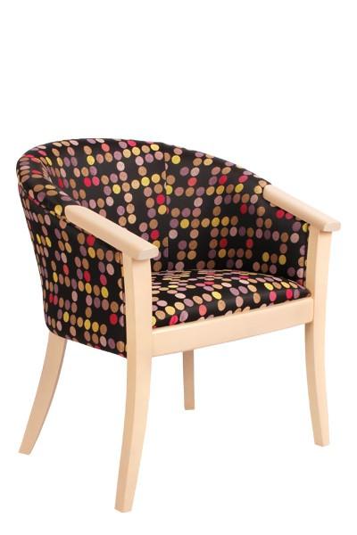 Dřevěná židle OLIVA, masiv buk - Z132
