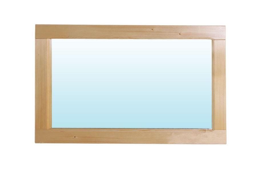 Zrcadlo 125 x 45, borovice - B191