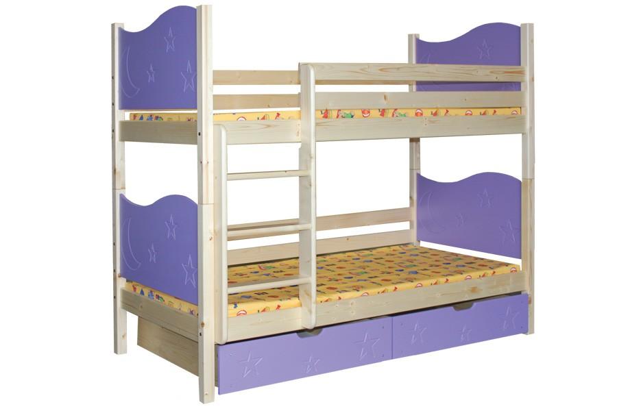 Patrová postel MARIO (základní provedení) - B410-80x180