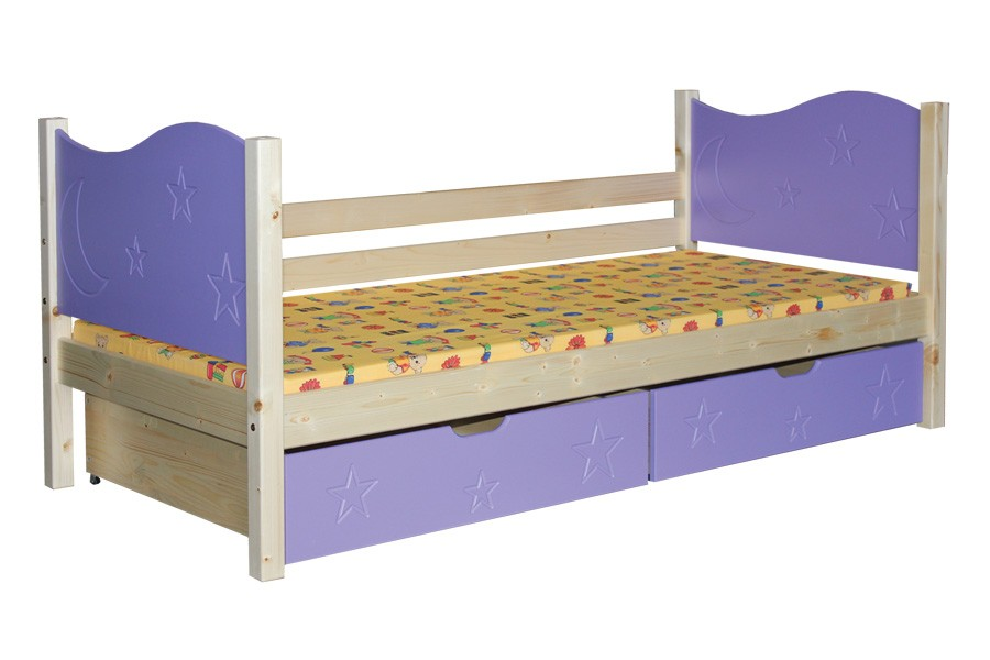 Dětská postel ZORA (80x180cm) - B444-80x180