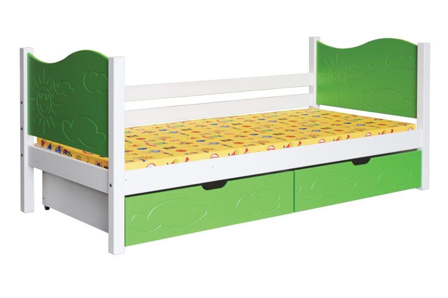 Dětská postel NICOL (90x200cm) - B445-90x200
