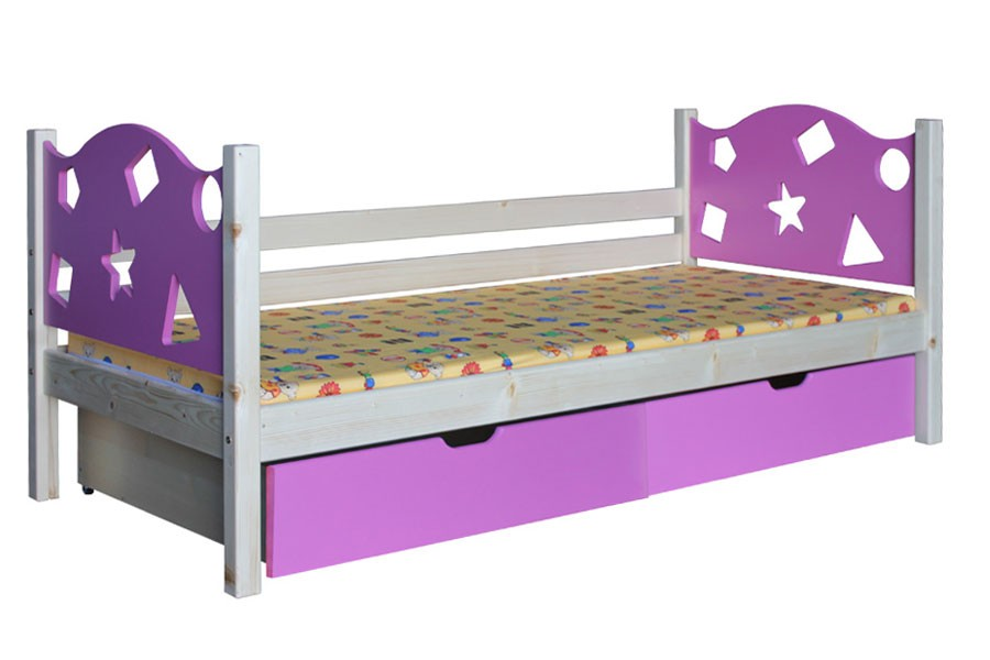 Dětská postel VIOLA (90x200cm) - B446-90x200