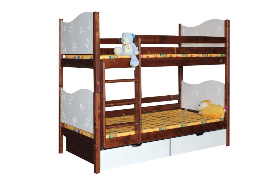 Patrová postel TIBOR - B411-90x200
