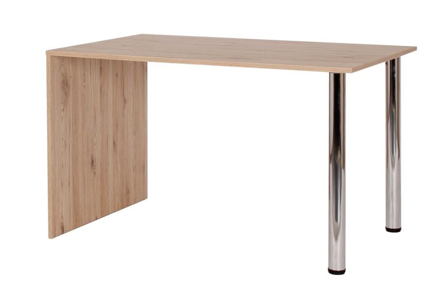Jídelní stůl KRYŠTOF 120x80, nohy chrom - S136-120