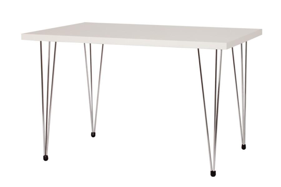 Jídelní stůl VAVŘINEC 80x120, nohy chrom - S148