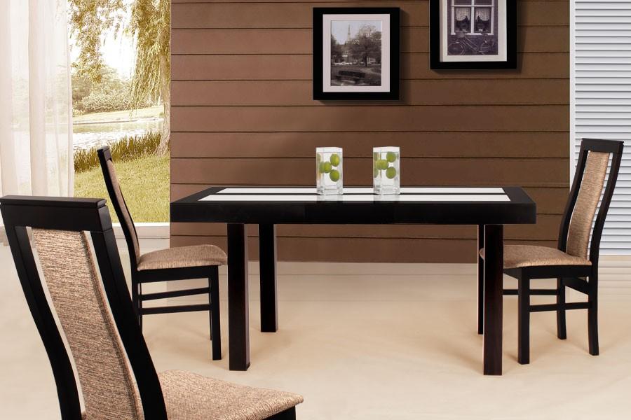 Jídelní stůl WIGGO, rozkládací 120/160x80 - S183