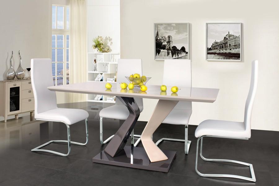Jídelní stůl ROLAND 160x90, MDF lesk - S93