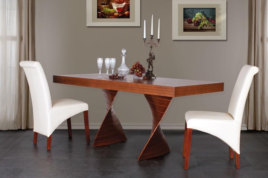 Jídelní stůl FREDO, rozkládací 160/220x90 - S181-160