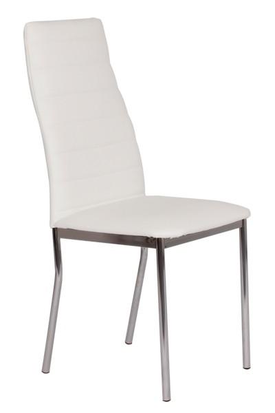 Jídelní židle LADA, čalouněná, nohy chrom - Z139