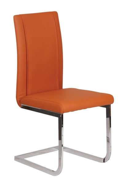 Jídelní židle VENUS, čalouněná, nohy chrom - Z402