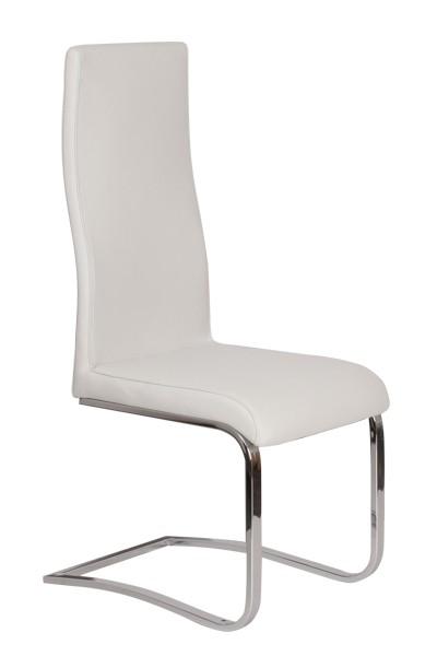 Jídelní židle ROLI, čalouněná, nohy chrom - Z403