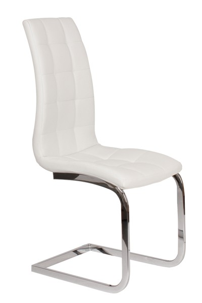 Jídelní židle MÍLA, čalouněná, nohy chrom - Z404