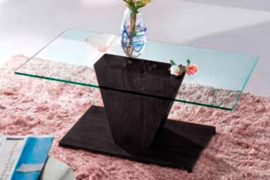 Bradop Konferenční stolek designový, MDF a sklo K93 NOVINKA