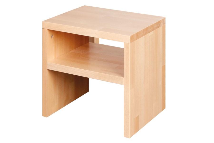 Noční stolek OSKAR 2, buk - L017
