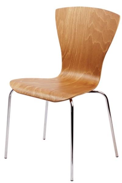Jídelní židle chromová SANDRA - Z15