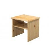 Noční stolek, masiv borovice - B011