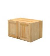 Nádstavec šatní skříně dvojdveřový - B022