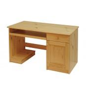 Psací stůl, dvířka + 1 zásuvka - B042