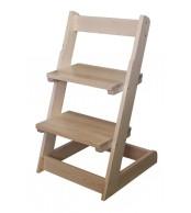 Dětská židle, celodřevěná polohovací - B162