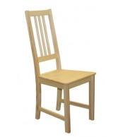 Jídelní židle celodřevěná ZINA, masiv borovice - B164