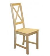 Jídelní židle celodřevěná TINA, masiv borovice - B165