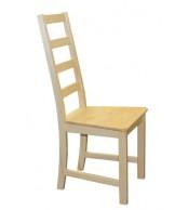 Jídelní židle celodřevěná MINA, masiv borovice - B166