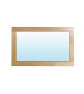 Zrcadlo 85 x 45, borovice - B190