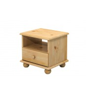 Noční stolek, masiv borovice - B201