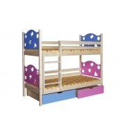 Patrová postel VALENTÝN (základní provedení) - B413-80x180