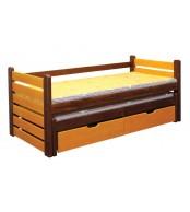 Dětská postel ANIČKA, dvoulůžko (postel s přistýlkou) - B433-80x180