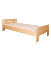 Jednolůžková postel 80 x 200, masiv smrk - B465