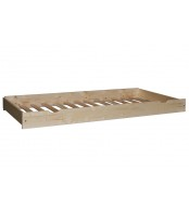 Přistýlka pod postel 90, masiv borovice rošt - B473